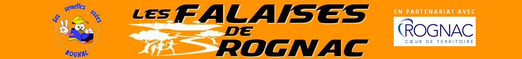 Les falaises de Rognac